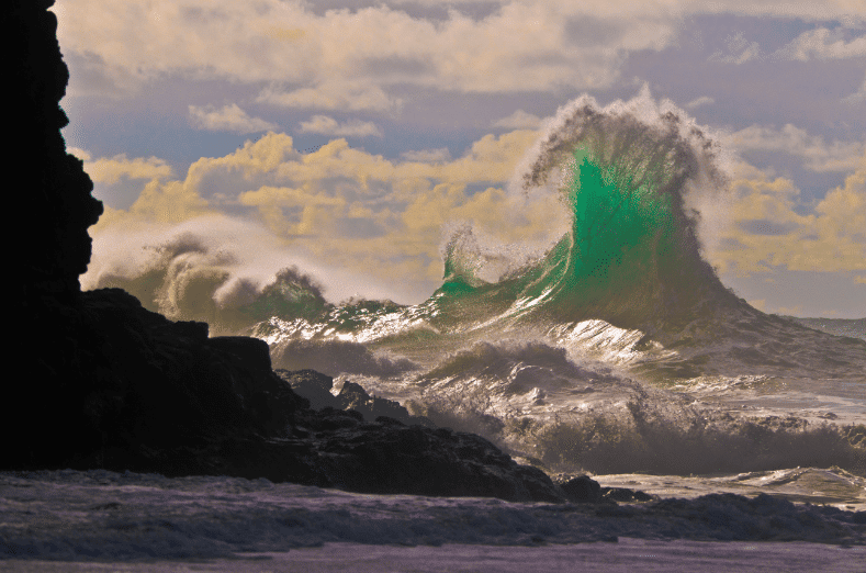 Green Stack Wave