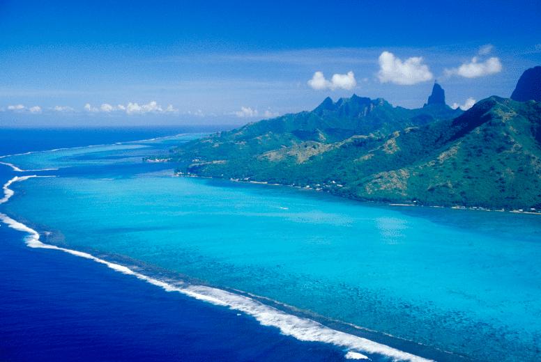 Moorea Island Aerial