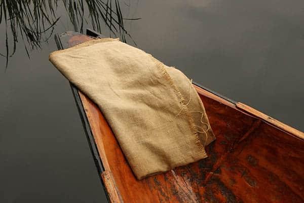 Canoe Burlap