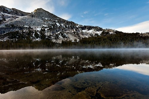 Tenaya Lake Rising Mist