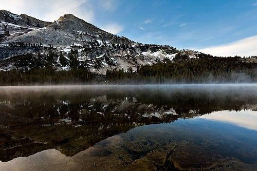 Tenaya Lake Rising Mist