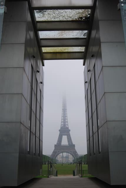 Eiffel Tower Through The Box